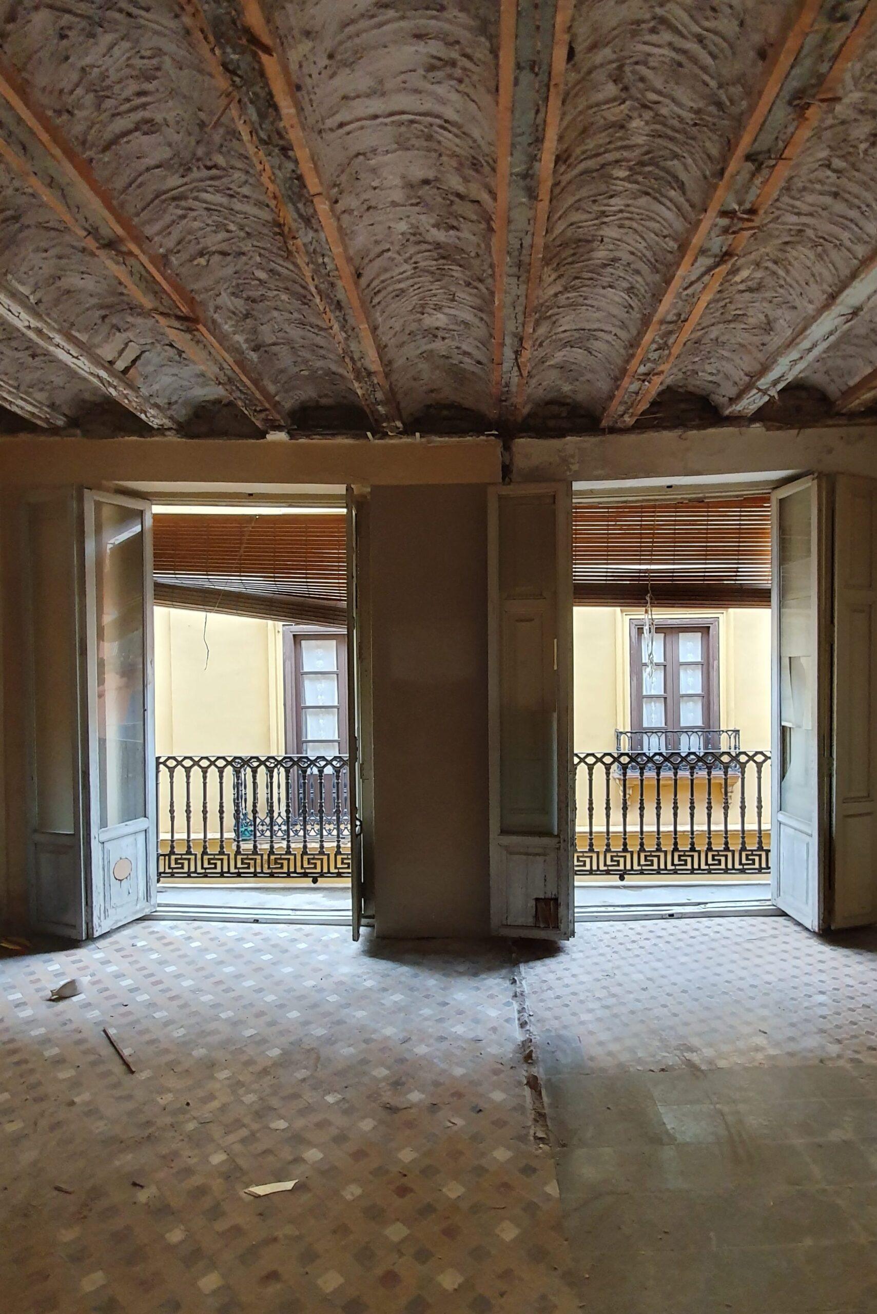 Rehabilitación de edificio en Valencia